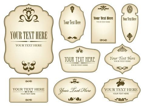 Vintage Bottle Labels Templates Free Download Labels Pinterest - Wine bottle label template free download