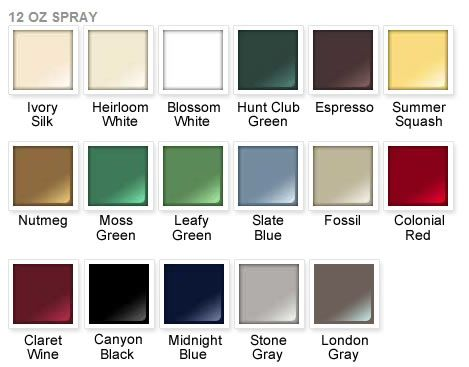 rust oleum 2x paint color chart rust oleum ultra cover. Black Bedroom Furniture Sets. Home Design Ideas