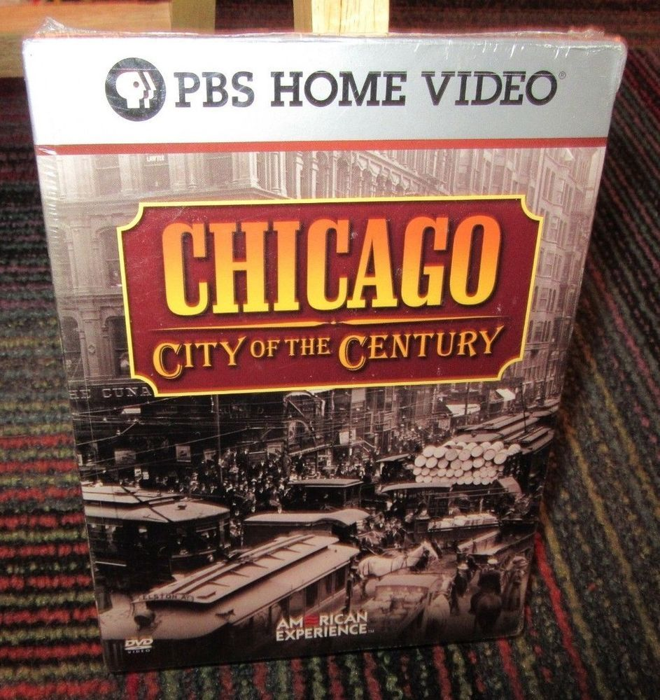 Chicago City Of The Century 4 Disc Dvd Set Pbs Video American Experience New Dvd Set Pbs Chicago
