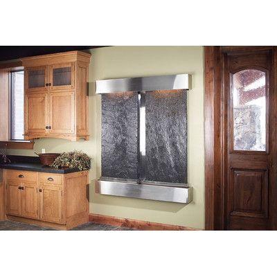Adagio Fountains Cottonwood Falls Wall Fountain Metal: