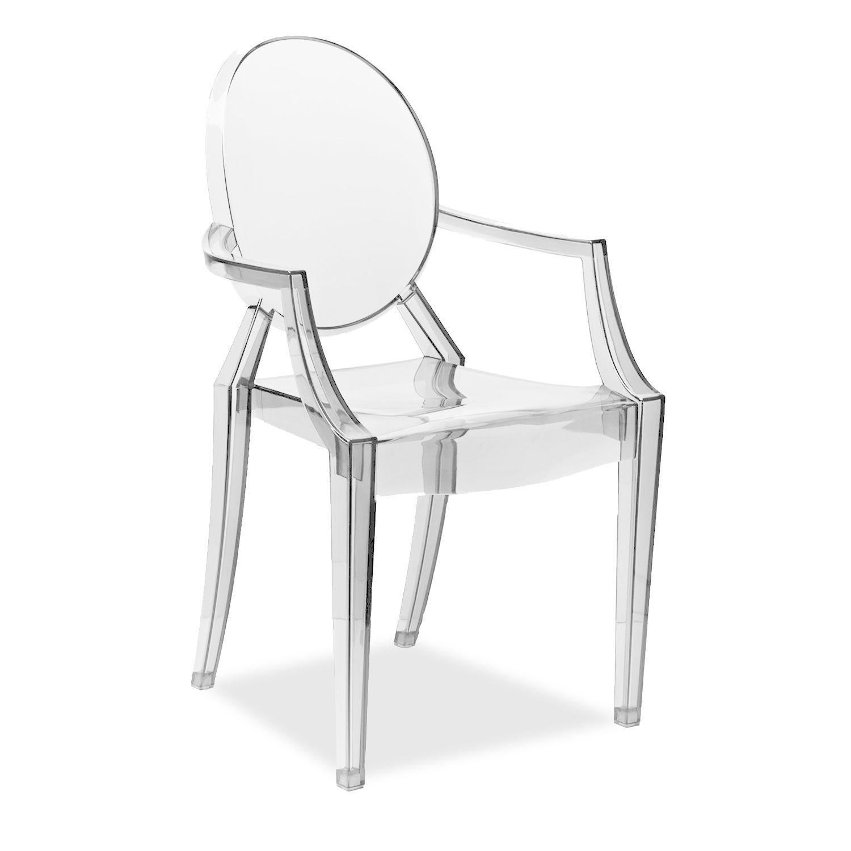 Silla louis arms clear edition transparente pinterest - Sillas de plastico ikea ...