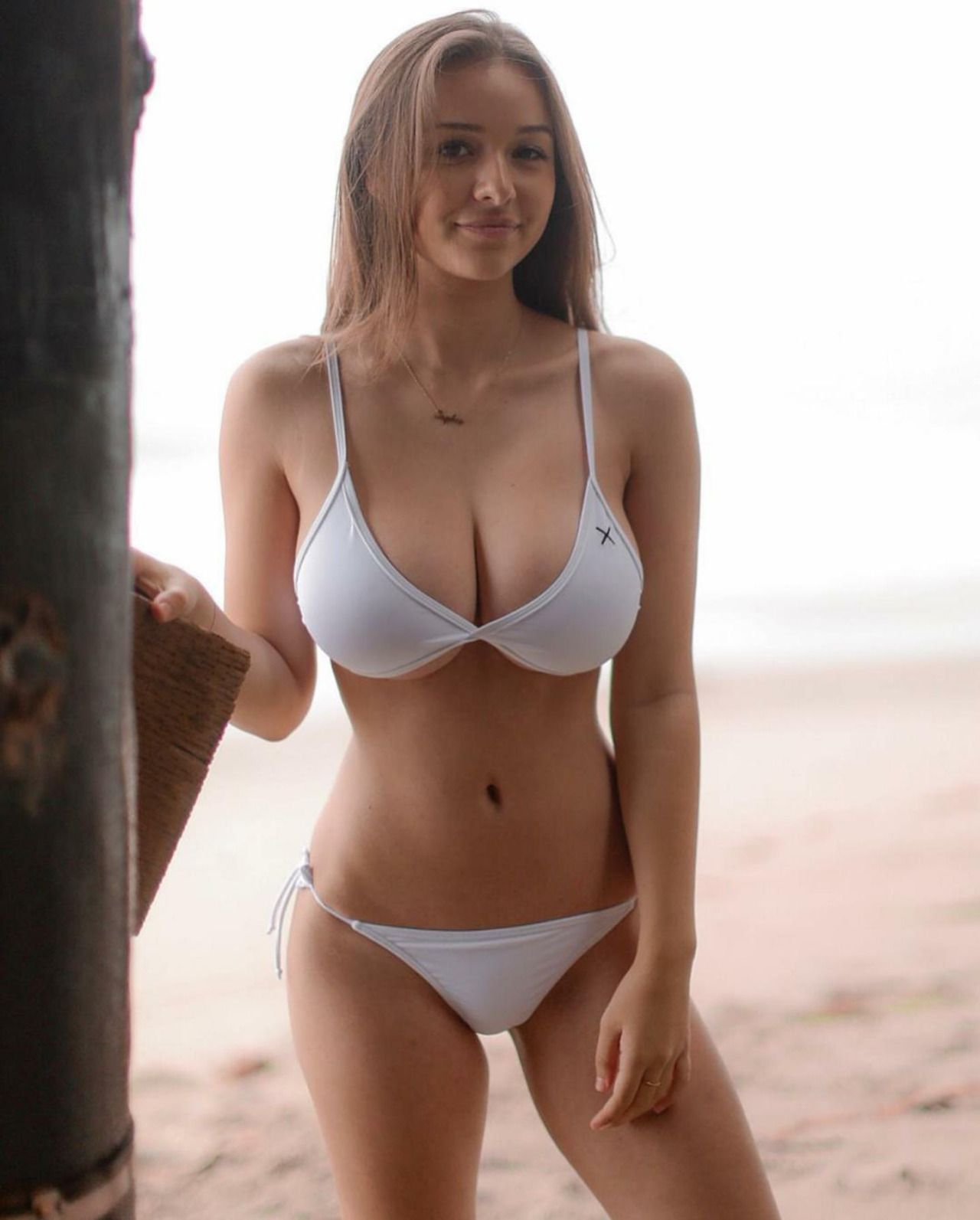 Big breasted swimsuit models