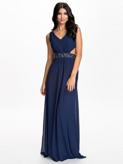 Waist Trim Maxi Dress