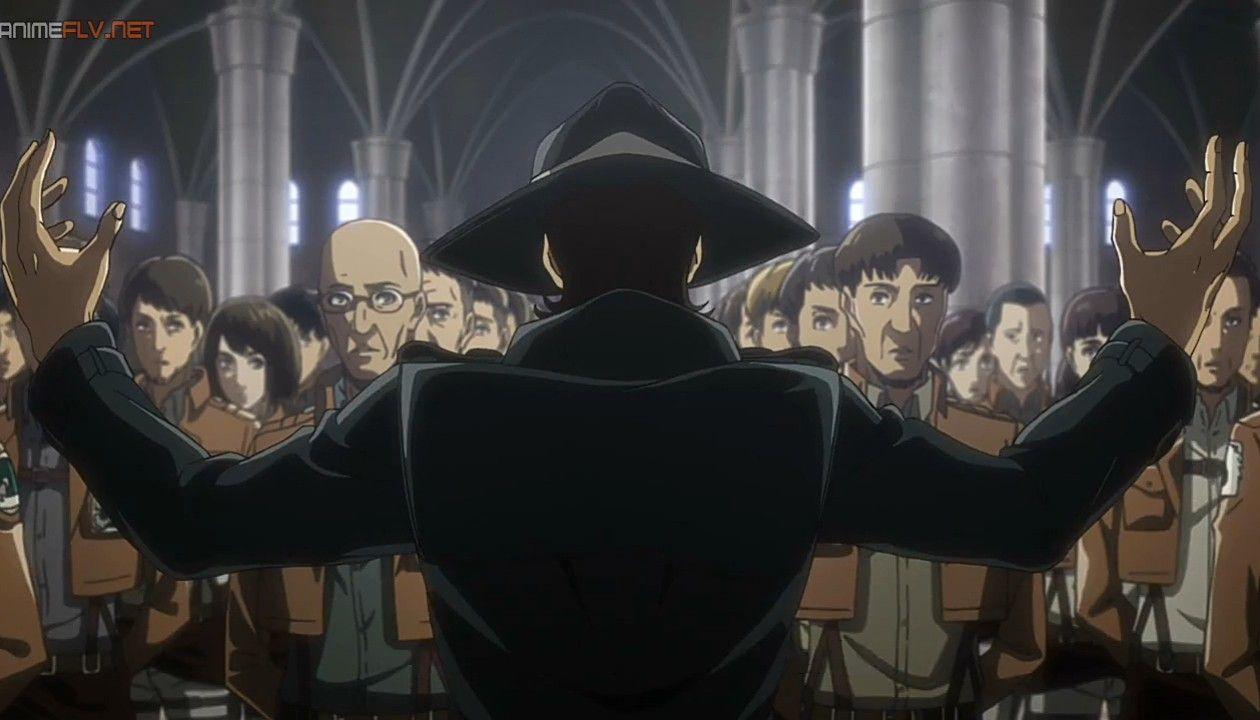 El Deseo De Kenny Shingeki No Kyojin Kyojin Temporada 3