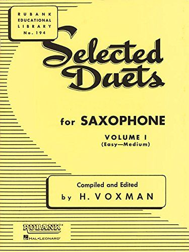 Selected Duets For Saxophone Easy Medium 1 Duets Selected Saxophone Medium Ad