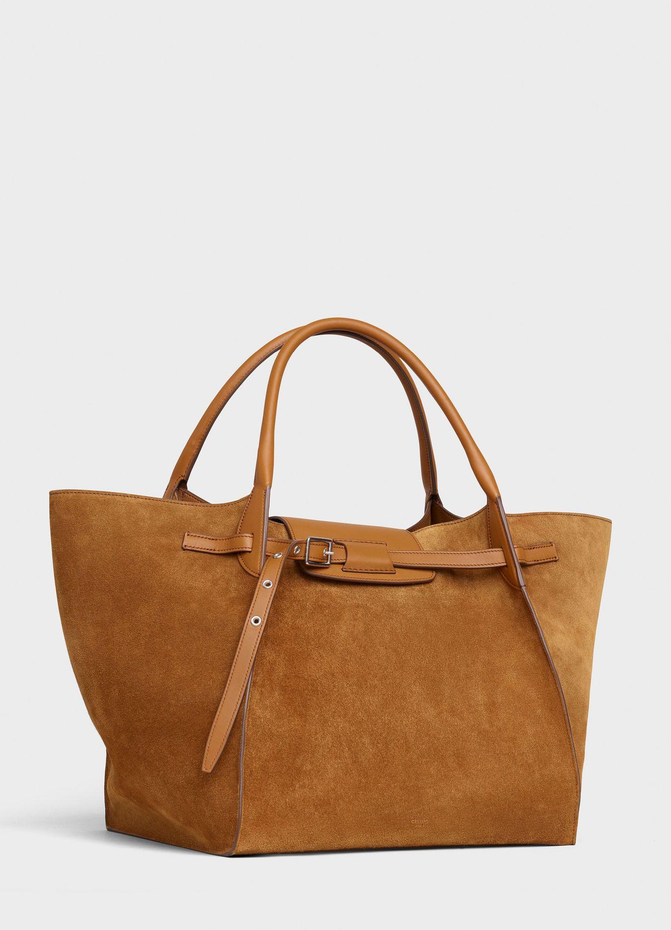fd9de436f5be Céline - Medium Big Bag in camel suede calfskin