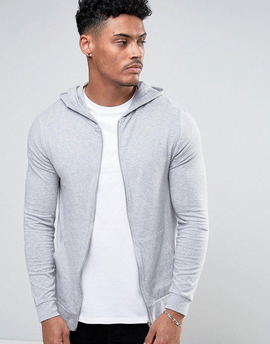 Get This Asos S Hooded Sweatshirt Now Click For More Details Worldwide Shipping Asos Lightweight Muscle Zip Up H Hoodies Hooded Sweatshirt Men Asos Menswear [ 1110 x 870 Pixel ]