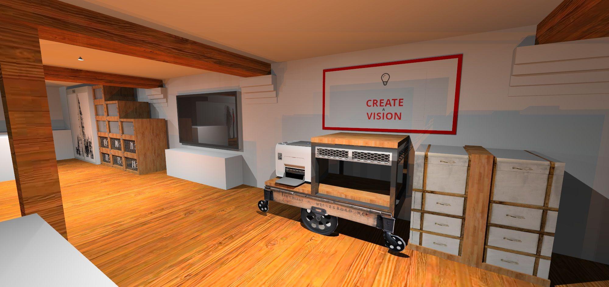 3d visual concept design for the w12 studios