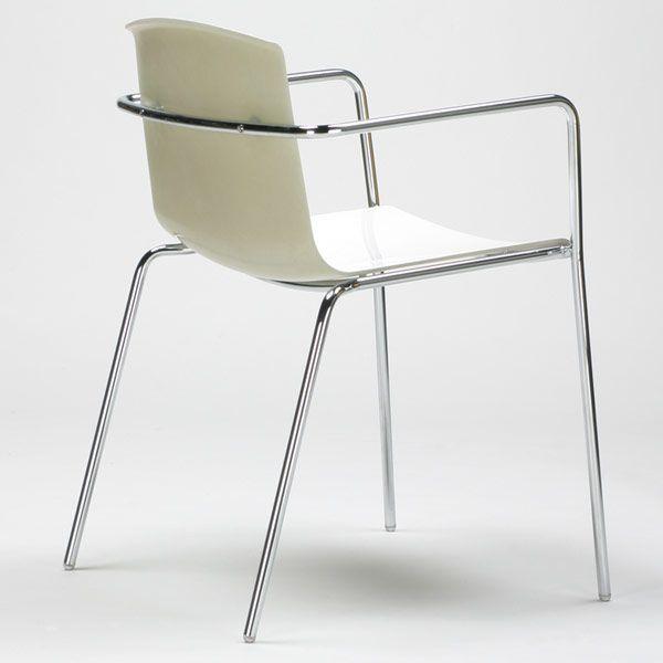 Flakes tuoli, valkoinen