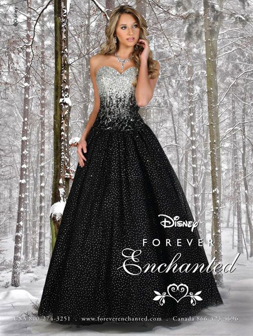 Disney Forever Enchanted Style 35515 Prom Dresses Prom