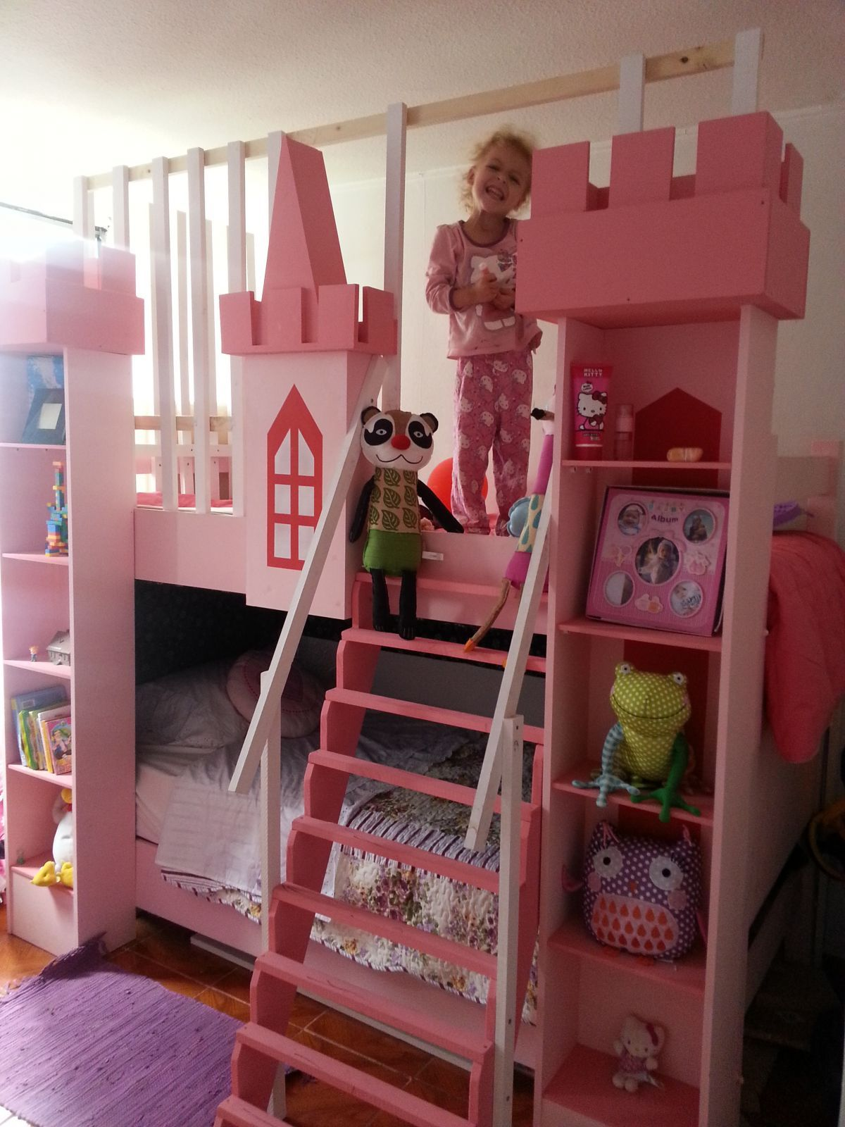 Restauraci 243 N Cama De Madera Kids Room Design Girl Room