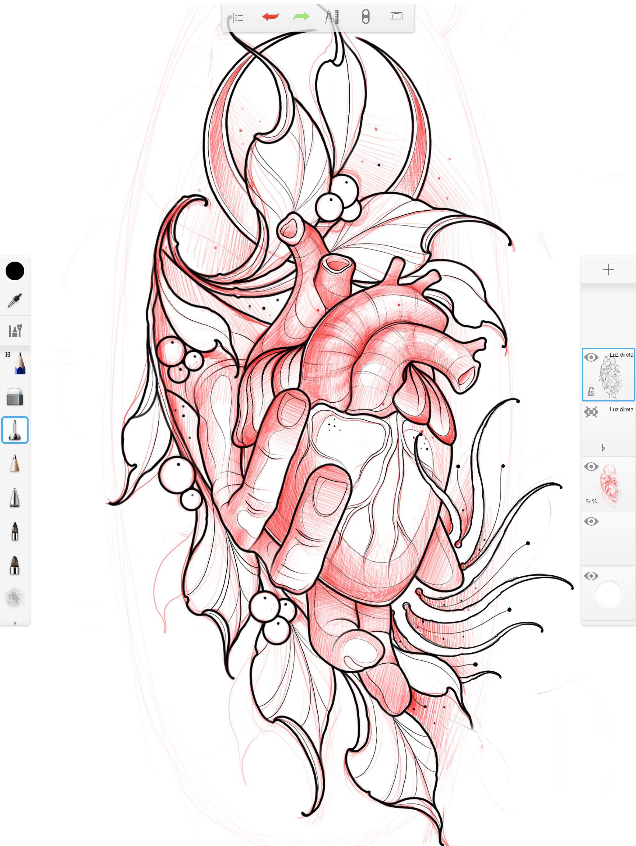 Digital To Skin Using Sketchbook Design Tattoos Nvrh Pre Dimmer Switch Wiringdimmerswitchsketch1jpg