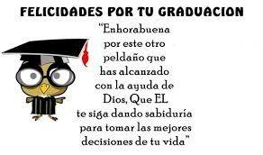 Imagenes Con Frases De Felicitaciones De Graduacion