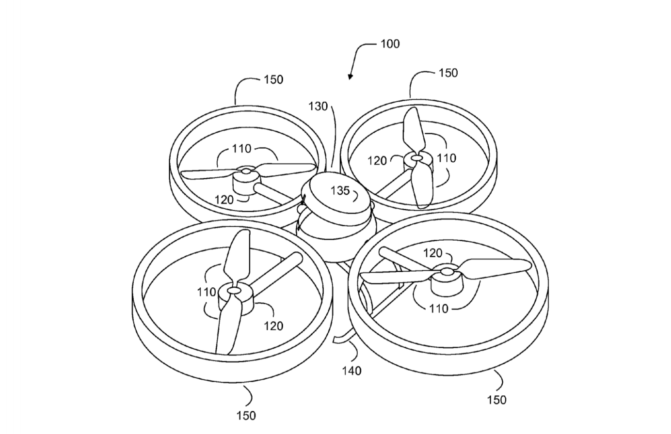 Image Result For Patent Drawing Drone