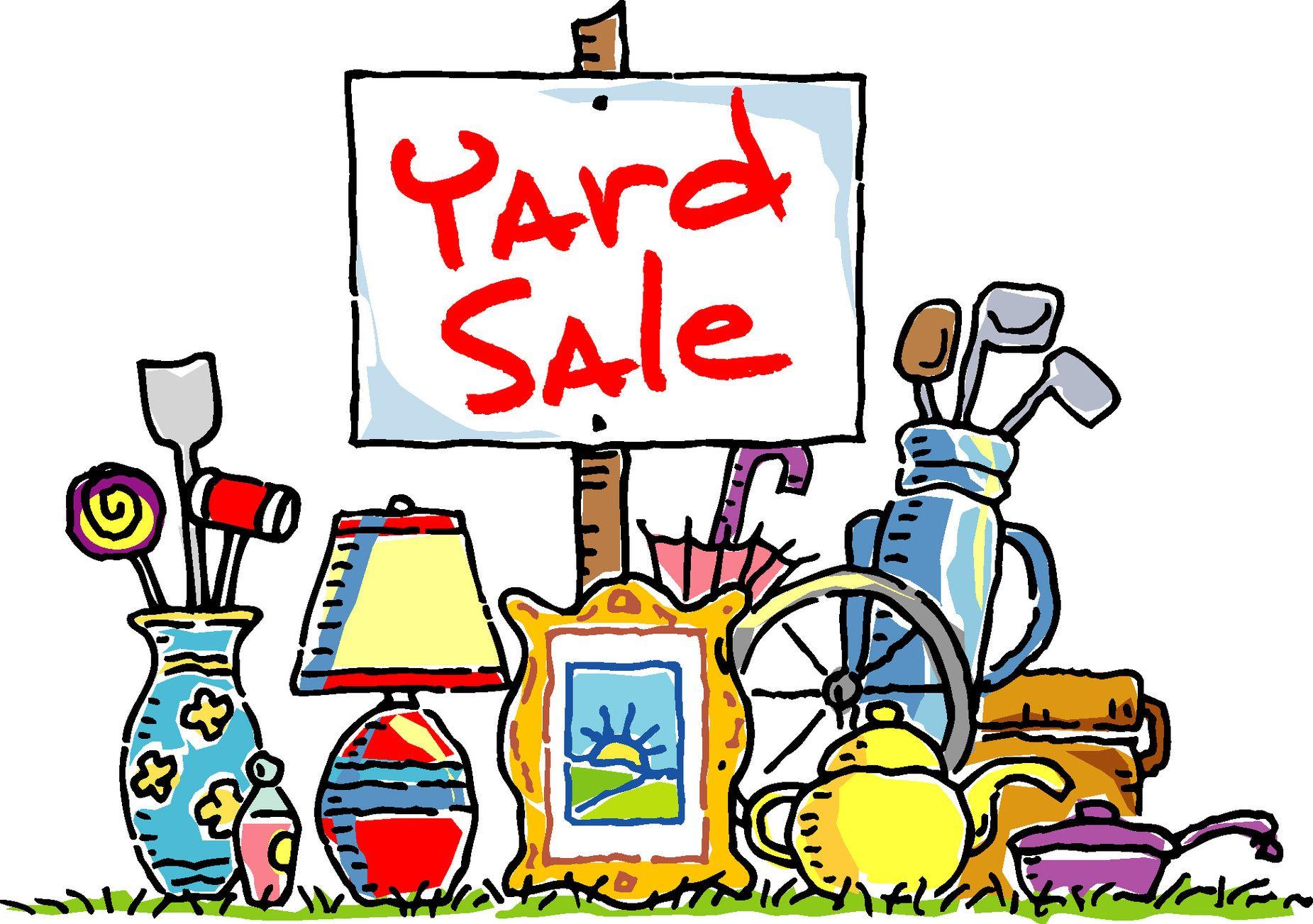 Yard Sale Clip Art Clipart Free To Use Clip Art Resource Yard