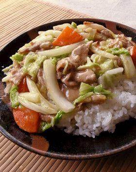 丼 レシピ 中華 人気
