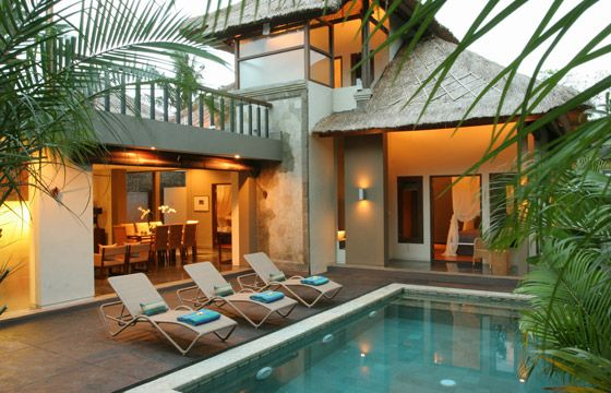 A villa in bali interior pinterest villas exterior and balinese - Balinese home decorating ideas ...