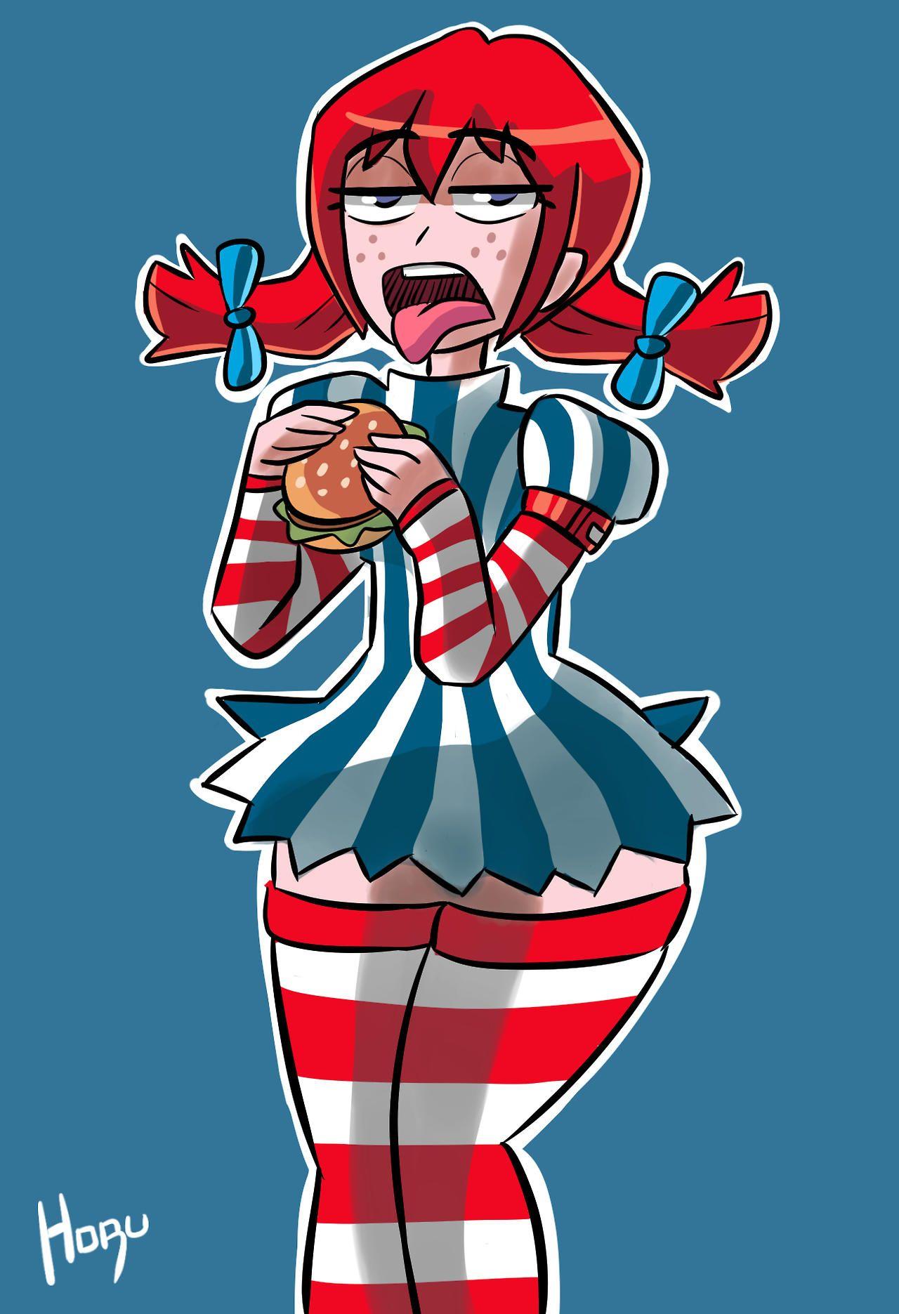 I felt like a WENDY'S Burger.   Smug Wendy's
