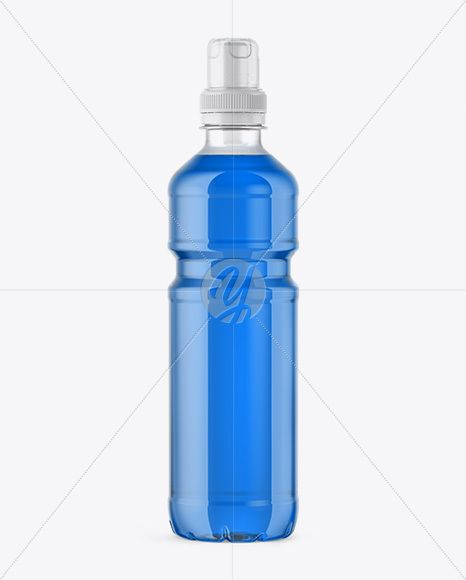 Download Clear Drink Bottle With Sport Cap Mockup In Bottle Mockups On Yellow Images Object Mockups Bottle Mockup Bottle Drink Bottles