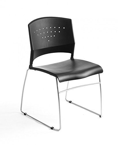 Boss Chairs Black Stack Chair W