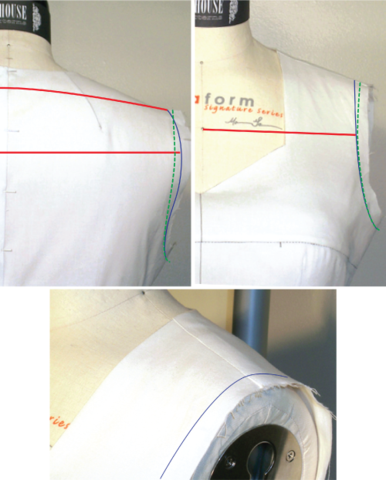 ajuster les épaules - fitting shoulders > In-House Patterns