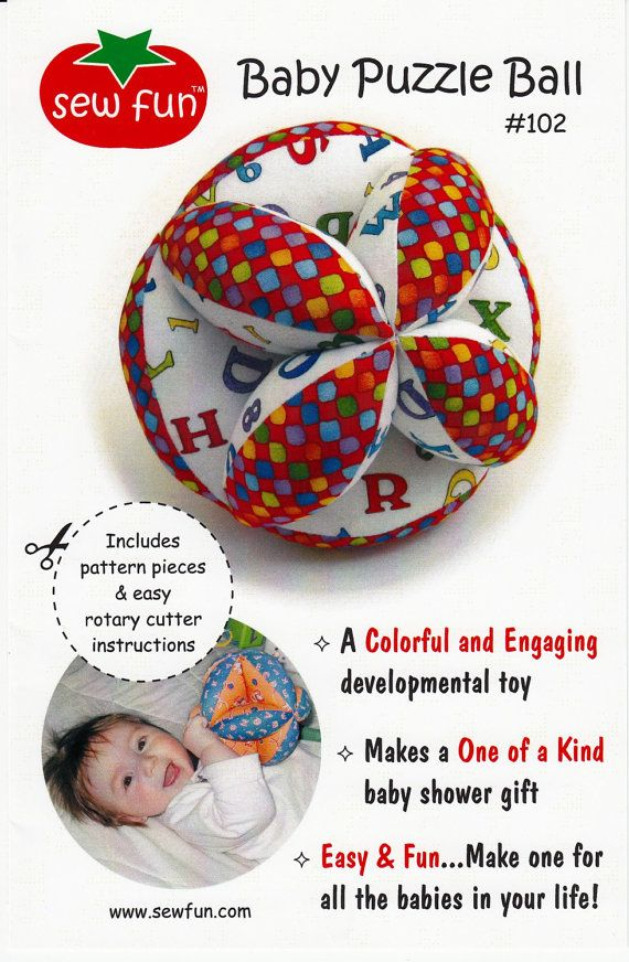 How To Sew A Ball With 2 Pieces : pieces, Clearance, PATTERN, Fashioned, PUZZLE, Puzzles,, Brainy, Baby,