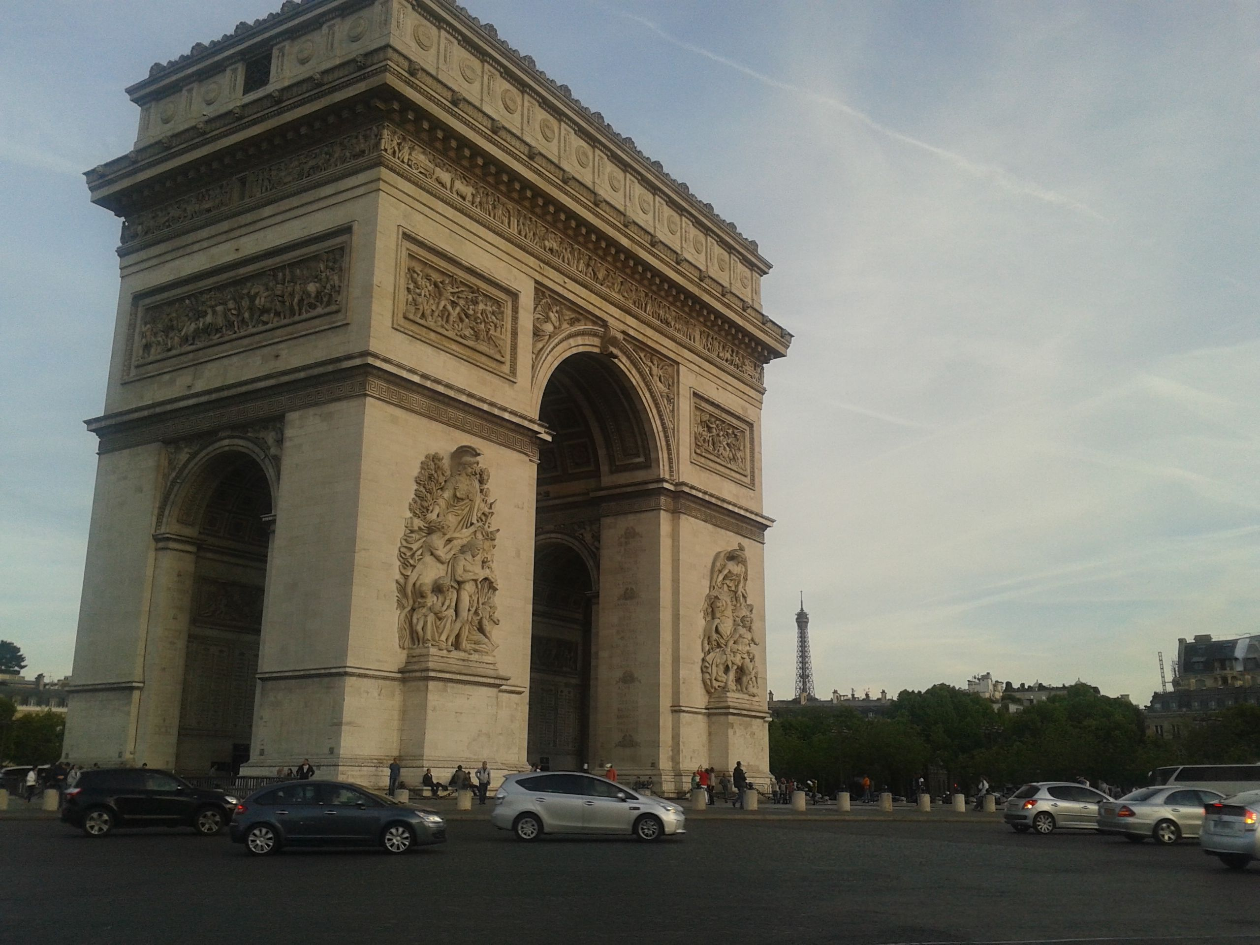 Arco do Triunfo - Paris - França