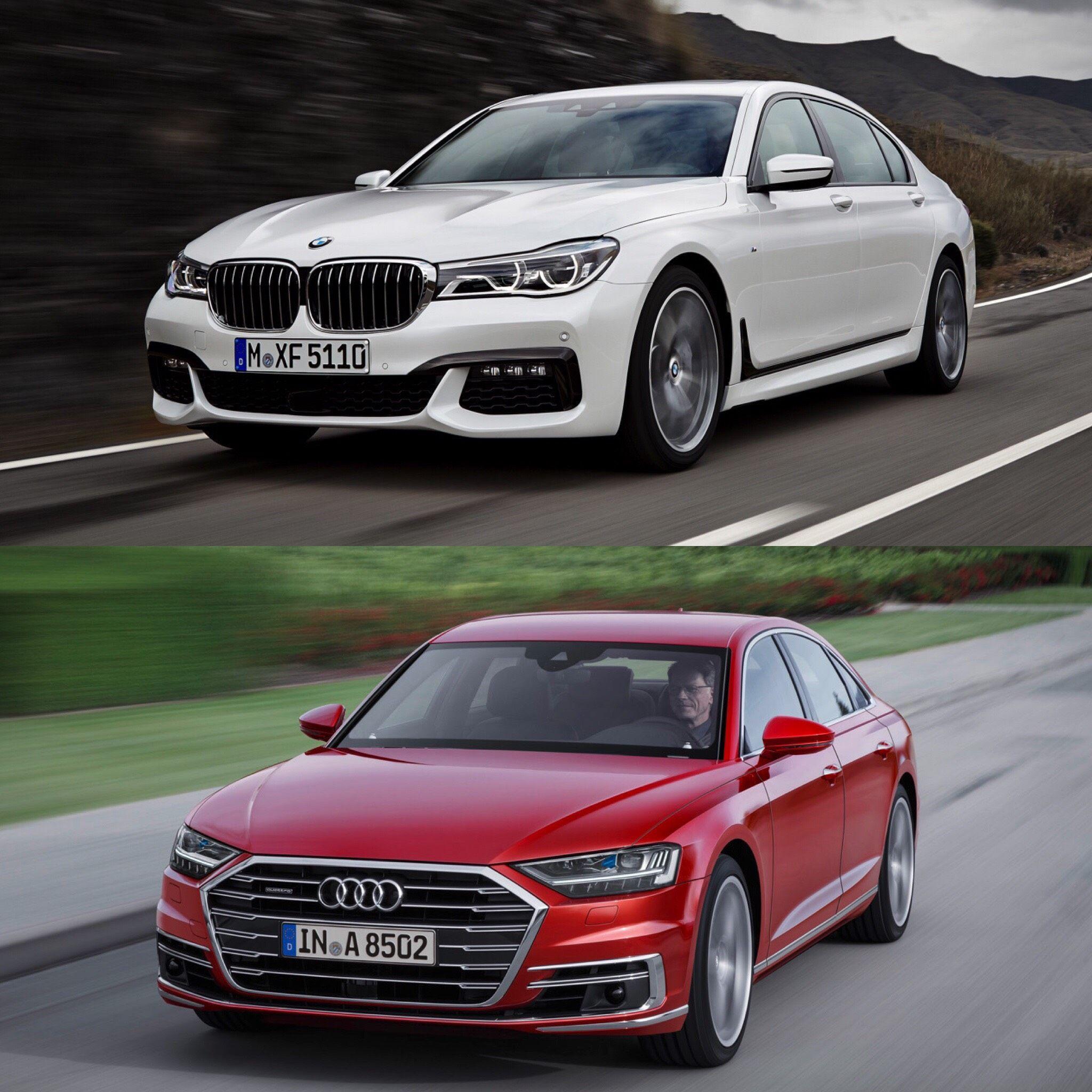 Photo Comparison 2018 Audi A7 Vs Bmw 6 Series Gran Turismo: Audi A8, Audi, Bmw 7 Series