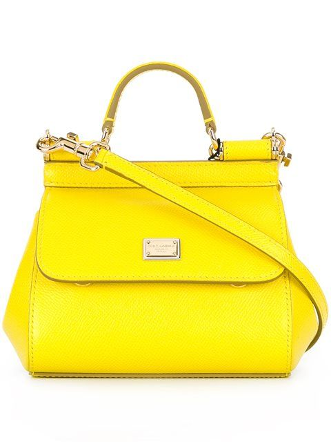 a7e52f80ff DOLCE & GABBANA Micro 'Sicily' Tote. #dolcegabbana #bags #shoulder bags #hand  bags #leather #tote #lining #