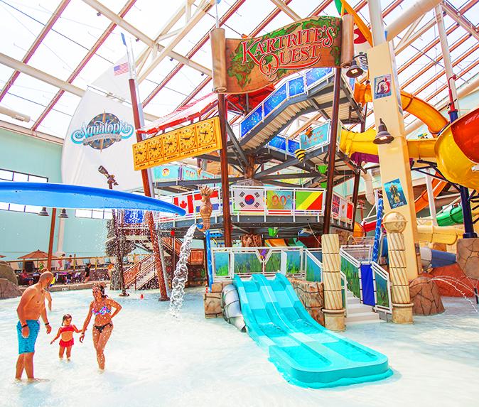 Camelback Lodge Aquatopia Indoor Waterpark Indoor Waterpark Water Park Poconos Resort