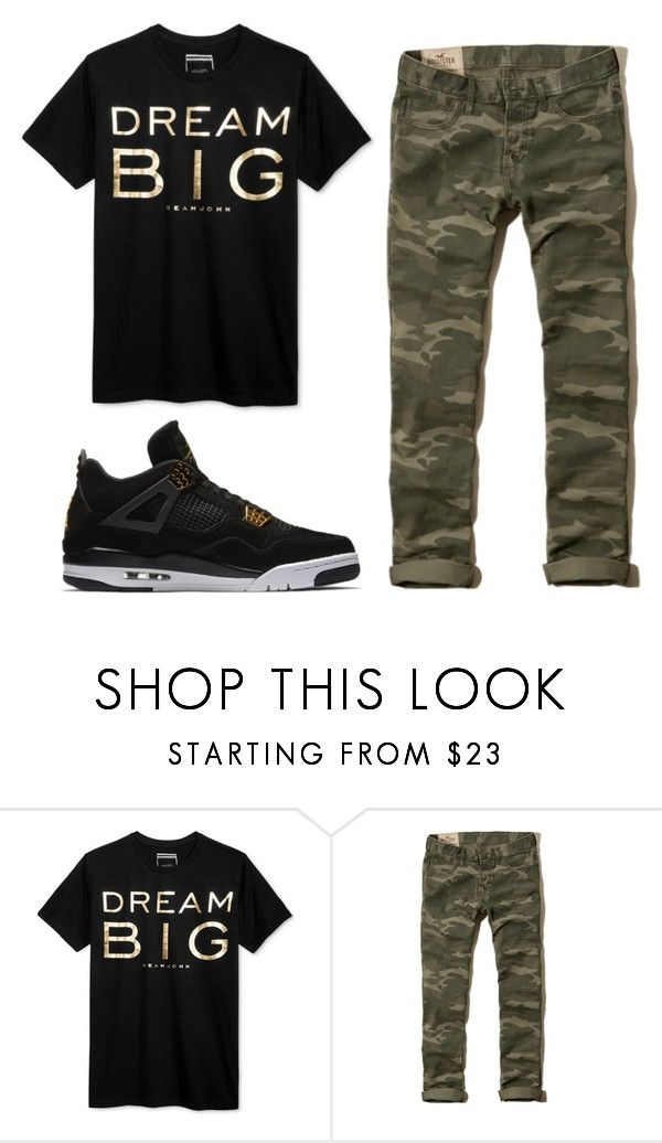 """""""By: Cj"""" by cuteskyiscute on Polyvore featuring Sean John, Hollister Co., NIKE, men's fashion and menswear"""
