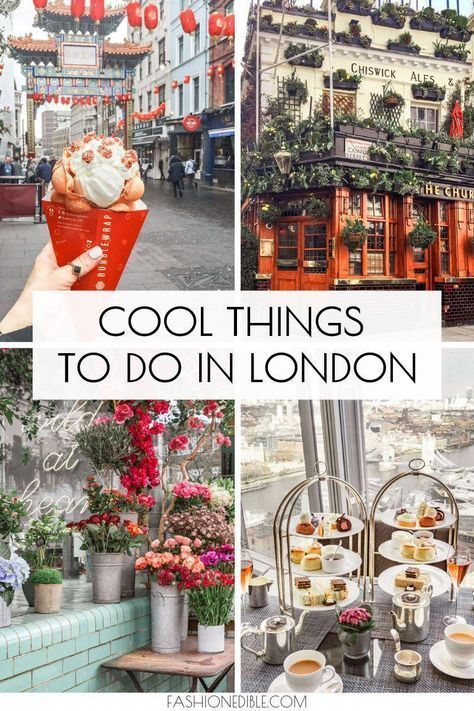 Photo of Cool Things To Do in London England – Grace J. Silla #travelpacking