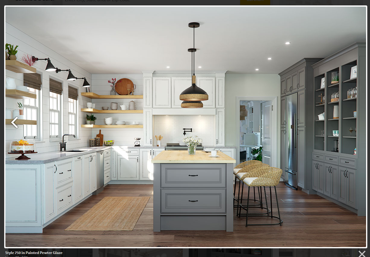 Style 750 In Painted Pewter Glaze Kitchen Design Centre Semi Custom Cabinets Kitchen Cabinets