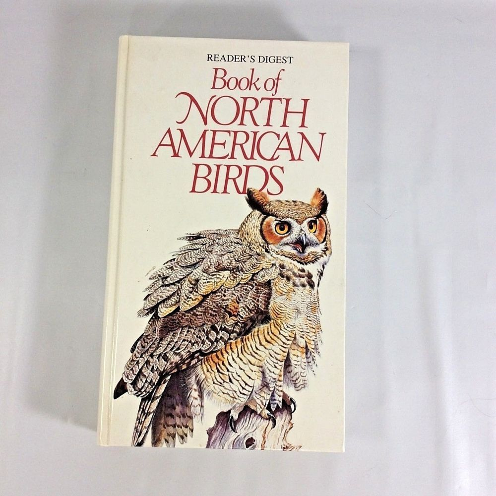 The Book of North American Birds Reader's Digest Hardcover Owl Cover  Illustrated