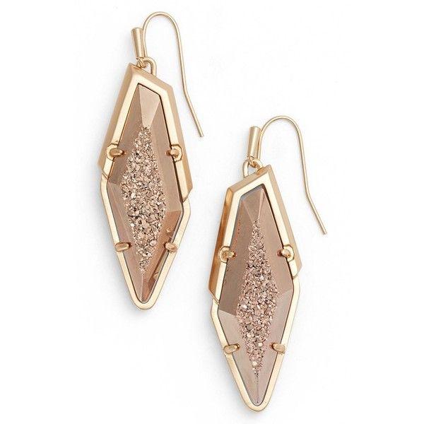 Women S Kendra Scott Bex Drop Earrings 175 Liked On Polyvore Featuring