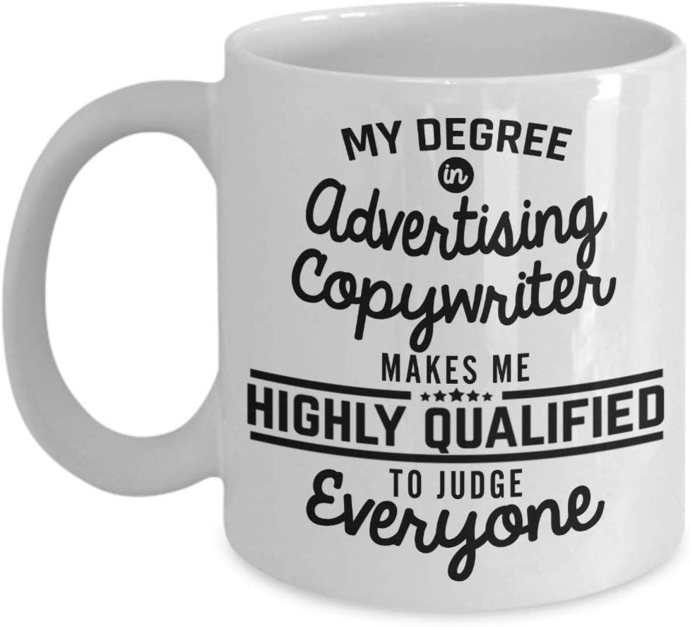 Advertising funny gift my degree in advertising