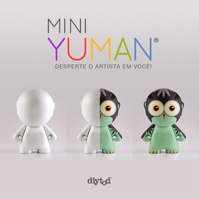 Que tal relaxar sua mente? Com apenas algumas canetinhas laváveis, marcadores permanentes ou tinta acrílica, é possível liberar sua imaginação e estimular sua criatividade. ||| Não espere mais, comece a se divertir agora mesmo: http://www.diytod.com.br ||| #toy #art #crayolabrasil #toyart #toyartistry #diy #facavocemesmo #livrodecolorir #miniyuman #universoyuman #diytod #crayola #crayolabrasil