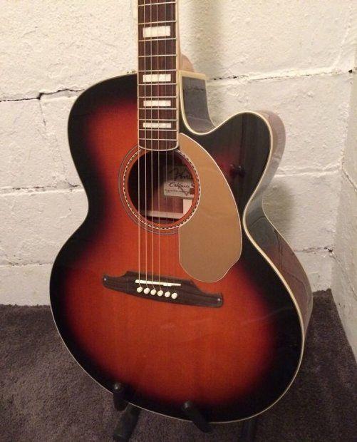 Pin Op Acoustic Electric Guitar