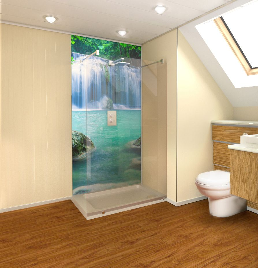 pin by ginger gee on wall ceiling floor art shower on shower wall panels id=62078