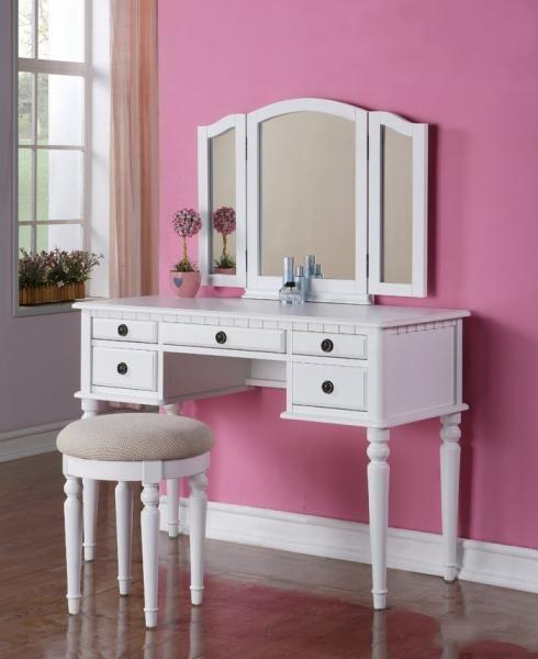 تفصيل غرف نوم حسب الطلب جدة كول ديزاين Bedroom Vanity Set White Wood Vanity White Bedroom Vanity