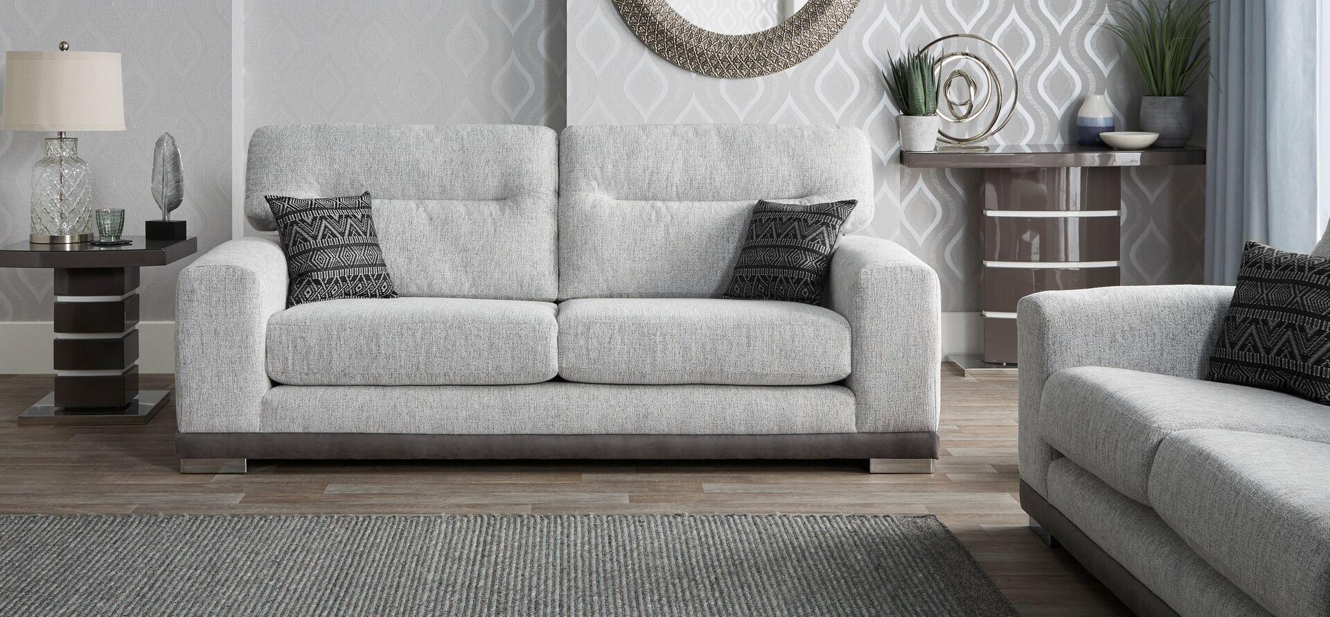 Ariel 3 Seater Sofa Standard Back In 2020 Corner Sofa Fabric 3 Seater Sofa 2 Seater Sofa