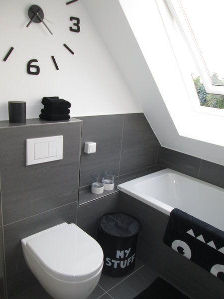 Unser Jungsbad Mit Bildern Badezimmer Schwarz Schwarzes Badezimmer Badezimmerideen
