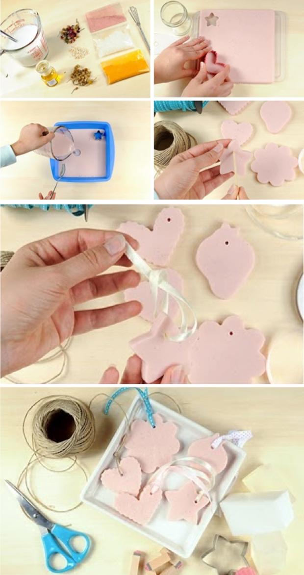 Homemade soap as a gift (great idea) Regali Fatti In Casa, Regali Fai