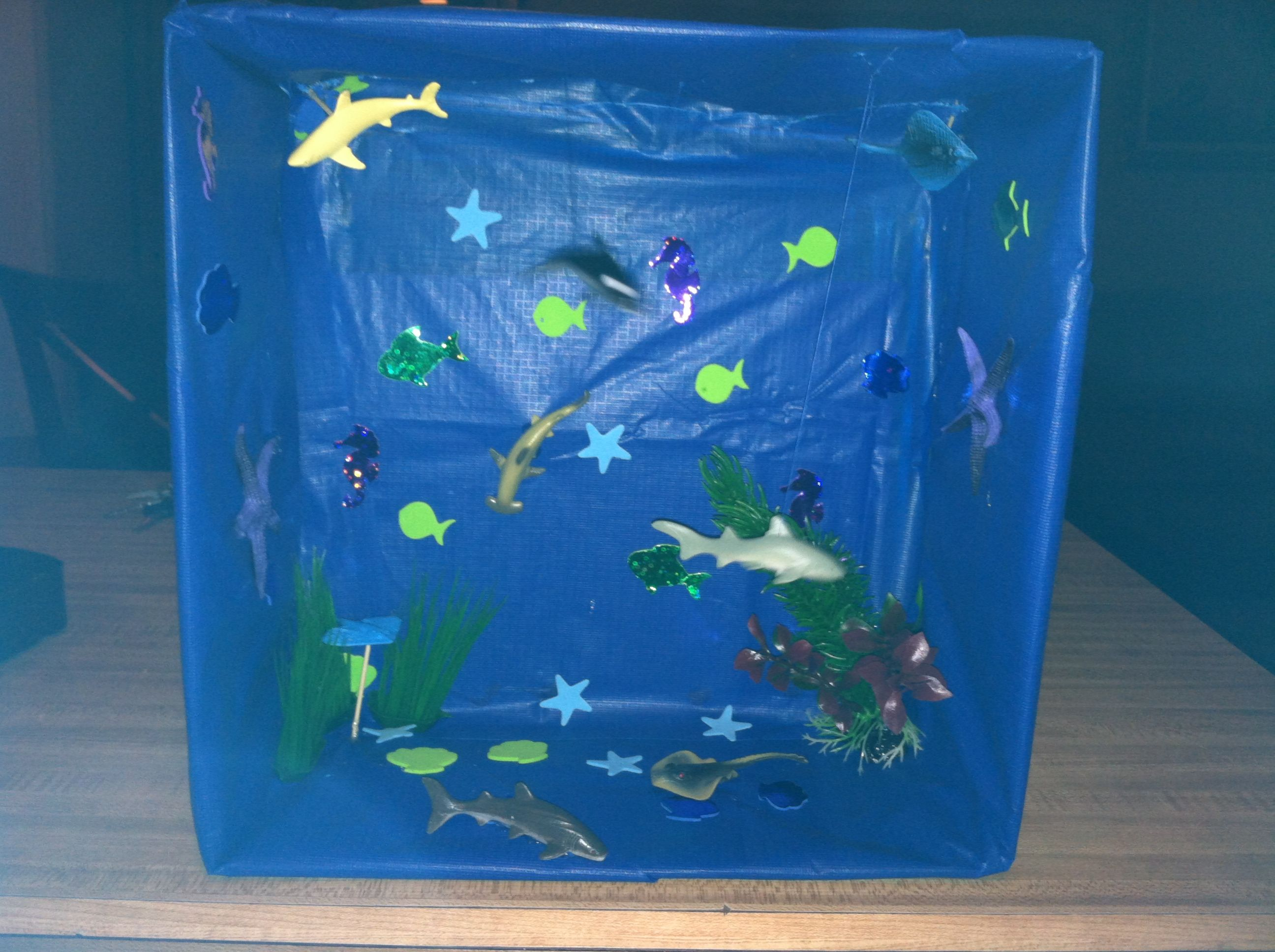 Ocean biome project! @Allison Moses you need to take a ...