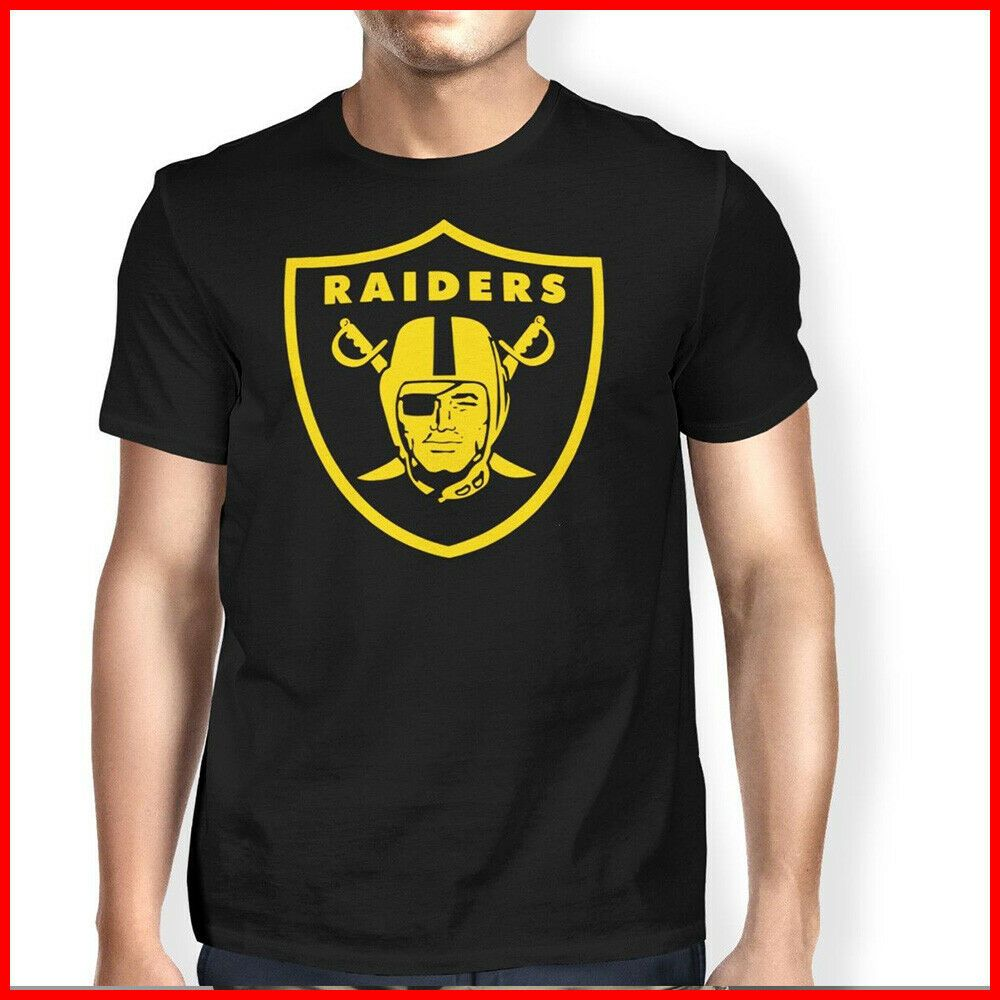 21254ffe Oakland Raiders American Football NFL T-Shirt Super Bowl Men T shirt Ideal  Gift #