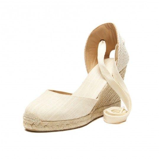 5cb63492765 Soludos Linen Espadrille Tall Wedge Sandal in Blush - Soludos Espadrilles