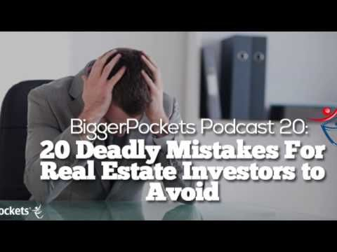 20 Deadly Mistakes For Real Estate Investors To Avoid Bp Podcast 20 Soul Collage Benchwarmers Quotes Podcasts