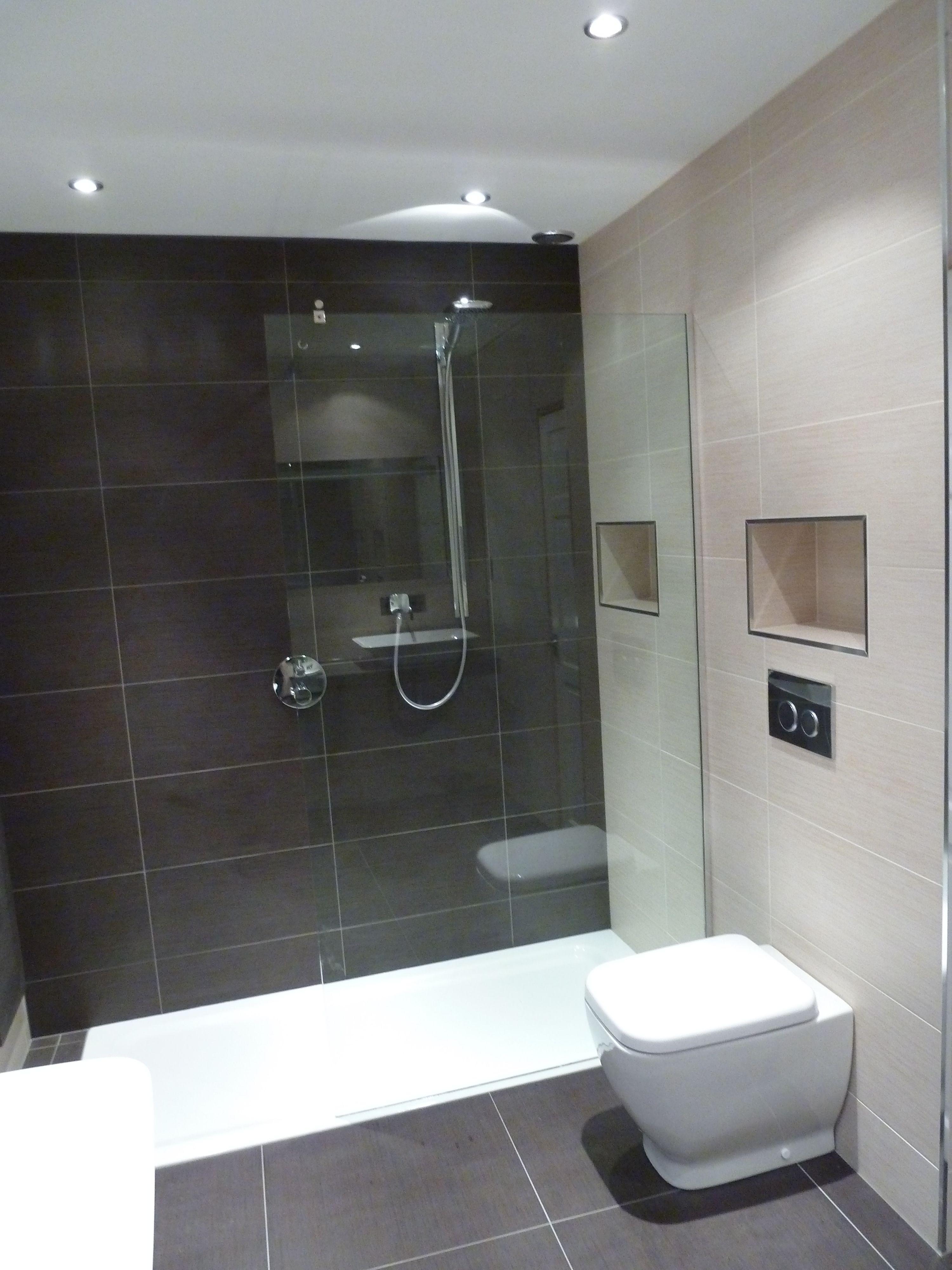 Salle de bain ardoise : naturelle et chic