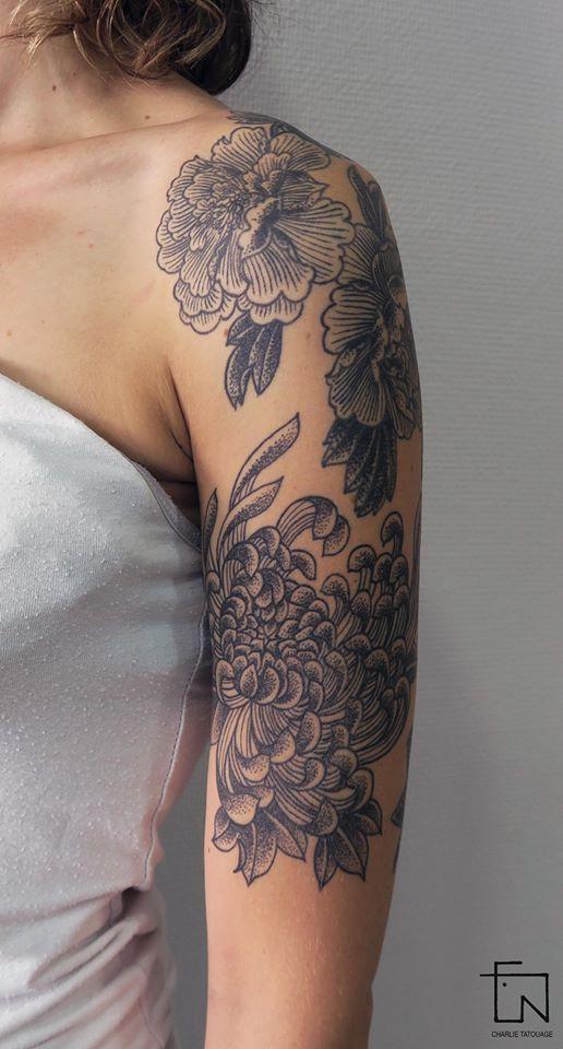 charlie tatouage