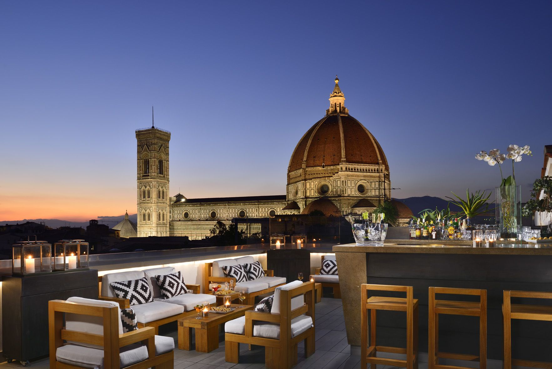 Amazing Views Of Florence From Grand Hotel Cavour Firenze